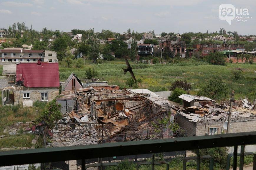 Позиции в Широкино, которые покинули боевики, заминированы и простреливаются (ФОТО) (фото) - фото 1