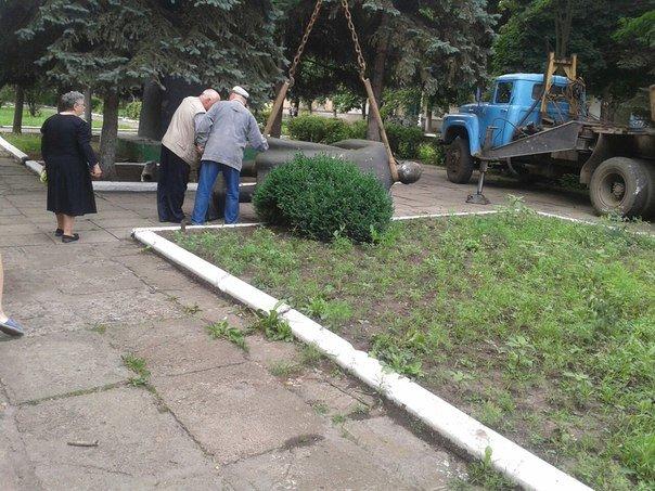 В городе Родинское Ленина убрали, чтобы не накалять обстановку (фото) - фото 2