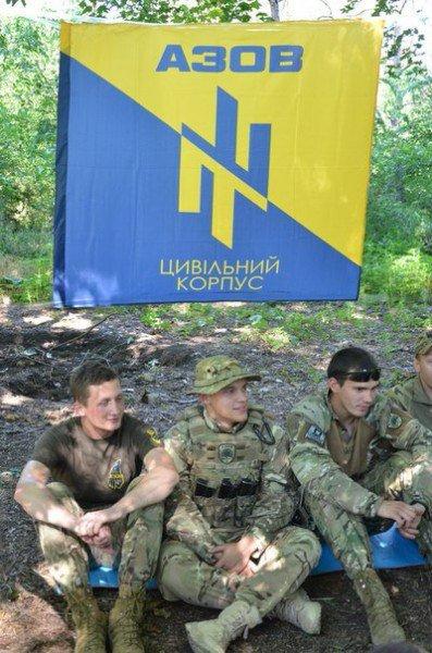 «Азов» обучал мариупольцев военному делу (ФОТО) (фото) - фото 1