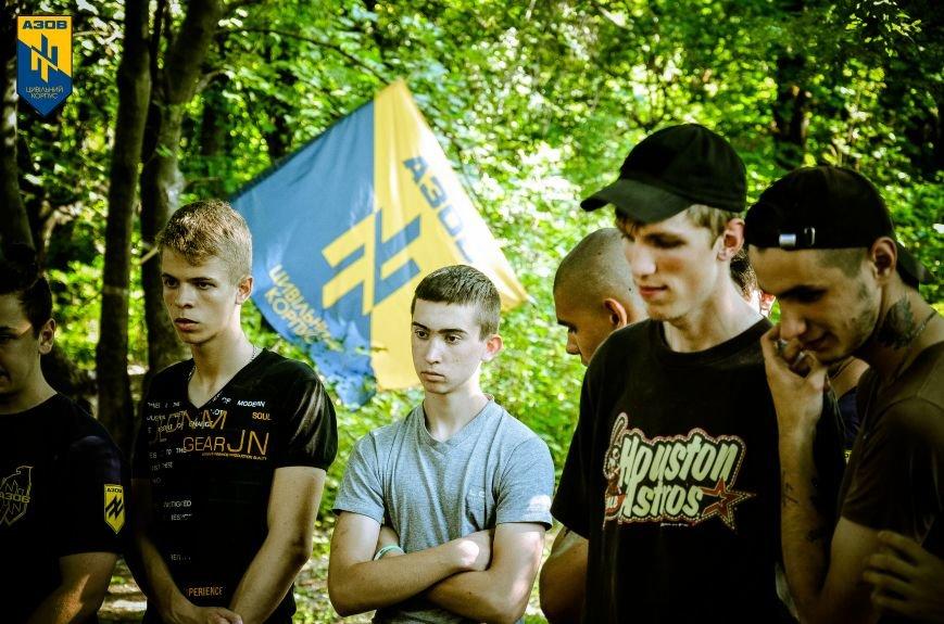 «Азов» обучал мариупольцев военному делу (ФОТО), фото-11