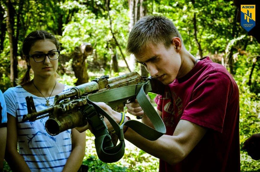 «Азов» обучал мариупольцев военному делу (ФОТО), фото-16