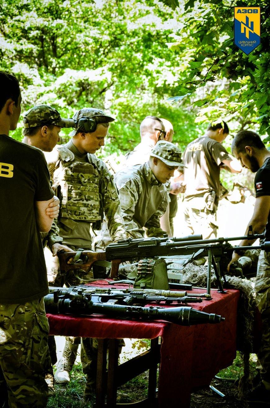 «Азов» обучал мариупольцев военному делу (ФОТО), фото-5