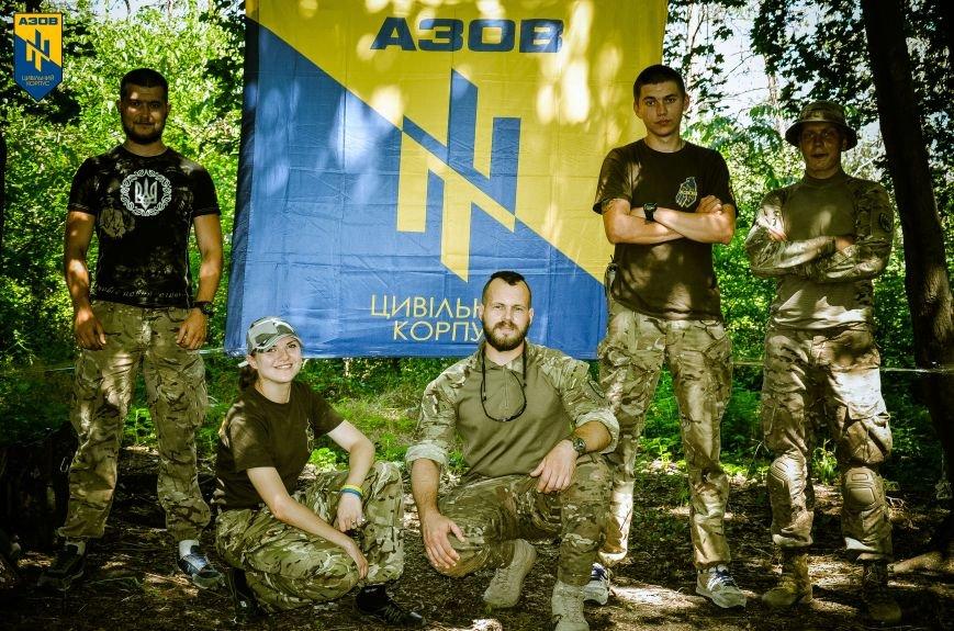«Азов» обучал мариупольцев военному делу (ФОТО), фото-17