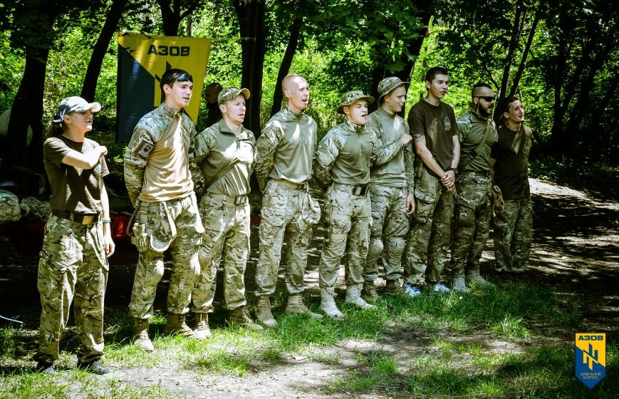 «Азов» обучал мариупольцев военному делу (ФОТО), фото-8