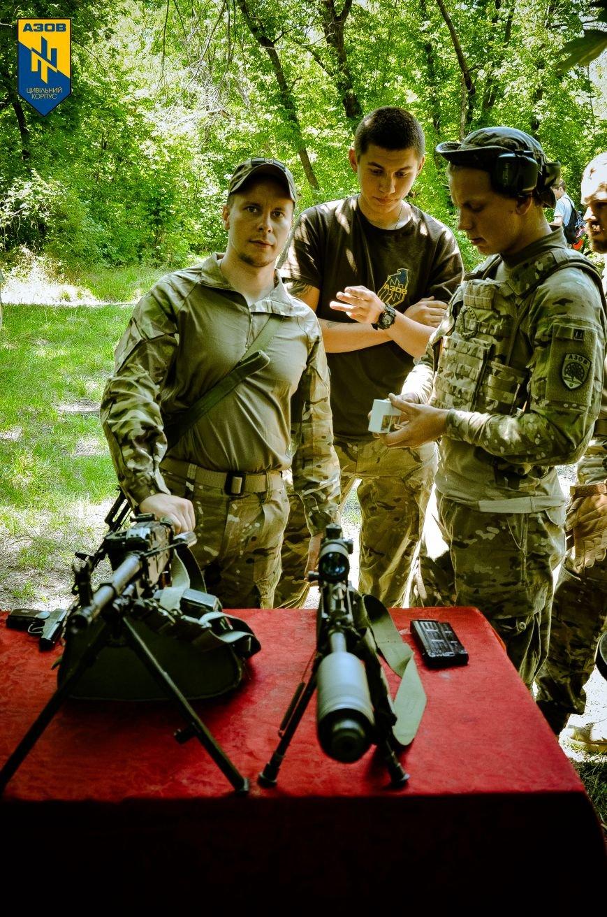 «Азов» обучал мариупольцев военному делу (ФОТО), фото-7