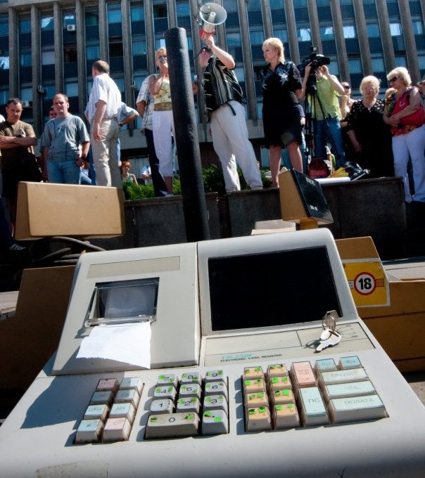 Благодаря Геннадию Корбану сотни черниговских предпринимателей попали в Киев и добились отмены РРО (фото) - фото 1
