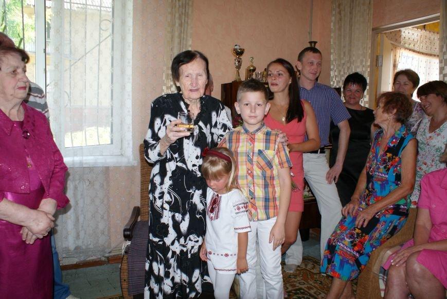 Самая пожилая жительница Днепродзержинска отметила юбилей (фото) - фото 1