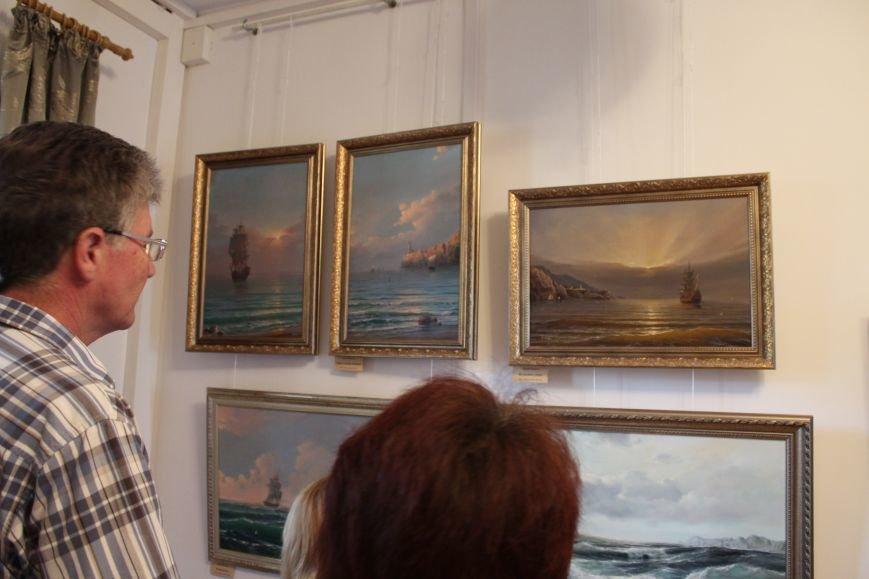 Зрители на выставке