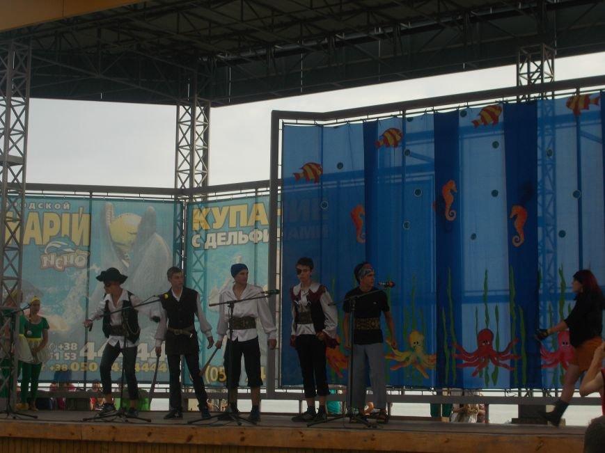 В Бердянске прошло праздничное мероприятие посвященное Дню Нептуна (фото) - фото 4
