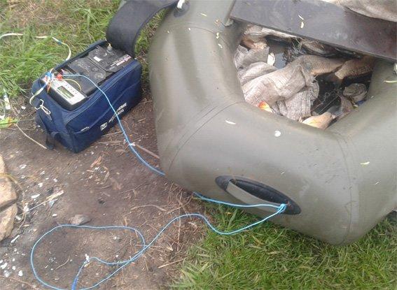 На Кировоградщине четверо браконьеров выловили более 170 килограммов рыбы. ФОТО (фото) - фото 1