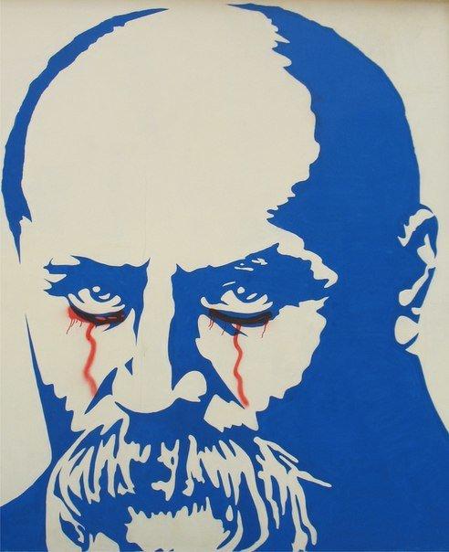 У кременчугского Кобзаря «кровавые слёзы» (ФОТО) (фото) - фото 1