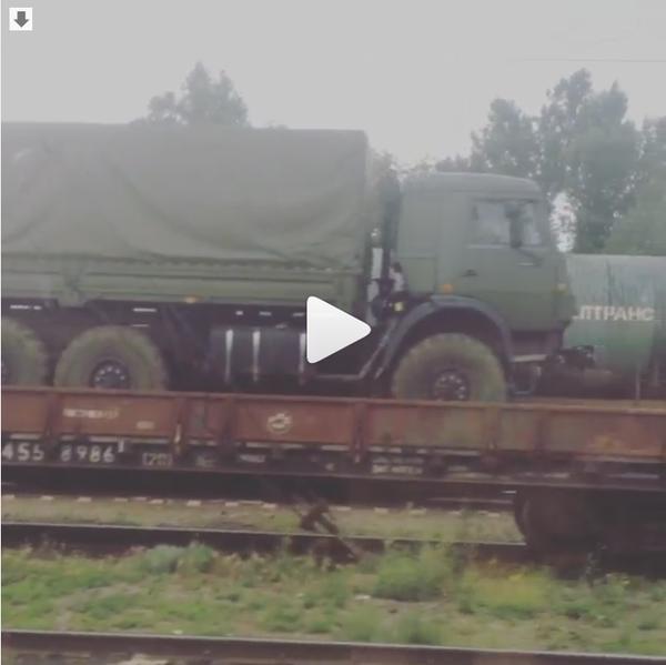 Россия на поддержку боевиков в Донбассе направила новые эшелоны с бронетехникой и боеприпасами (ФОТО) (фото) - фото 2