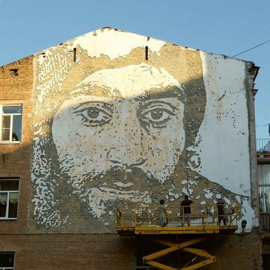 В Киеве появилось граффити с портретом Сергея Нигояна (ФОТОФАКТ) (фото) - фото 1
