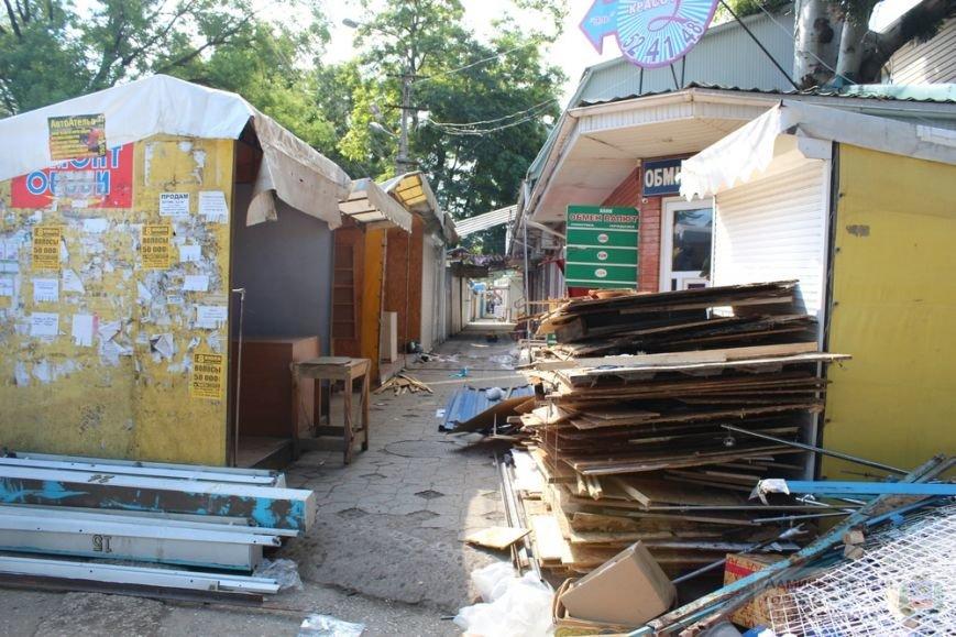 Снести торговые павильоны на рынке по ул. Козлова планируют за два дня (ФОТО) (фото) - фото 11
