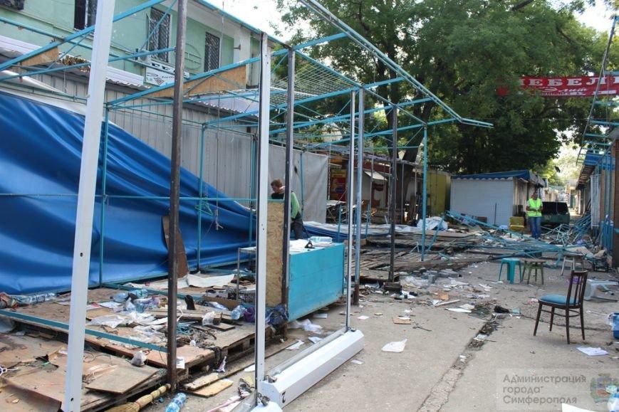 Снести торговые павильоны на рынке по ул. Козлова планируют за два дня (ФОТО) (фото) - фото 8