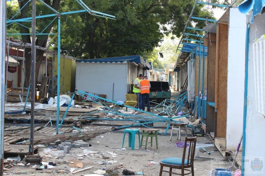 Снести торговые павильоны на рынке по ул. Козлова планируют за два дня (ФОТО) (фото) - фото 9