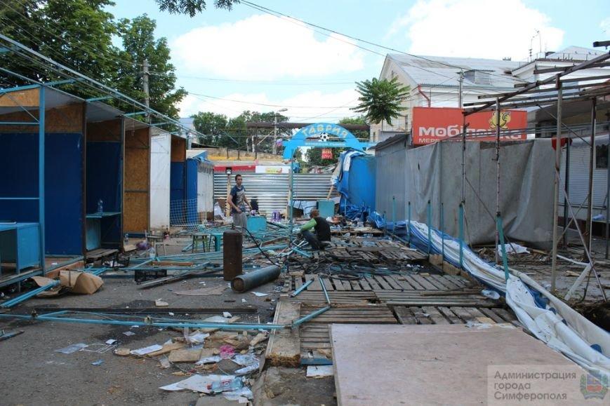 Снести торговые павильоны на рынке по ул. Козлова планируют за два дня (ФОТО) (фото) - фото 1