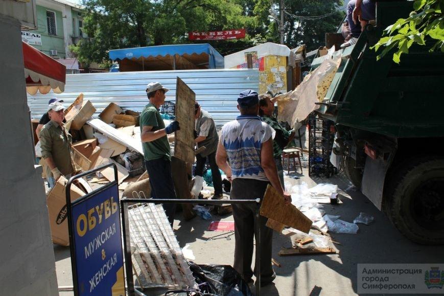 Снести торговые павильоны на рынке по ул. Козлова планируют за два дня (ФОТО) (фото) - фото 2