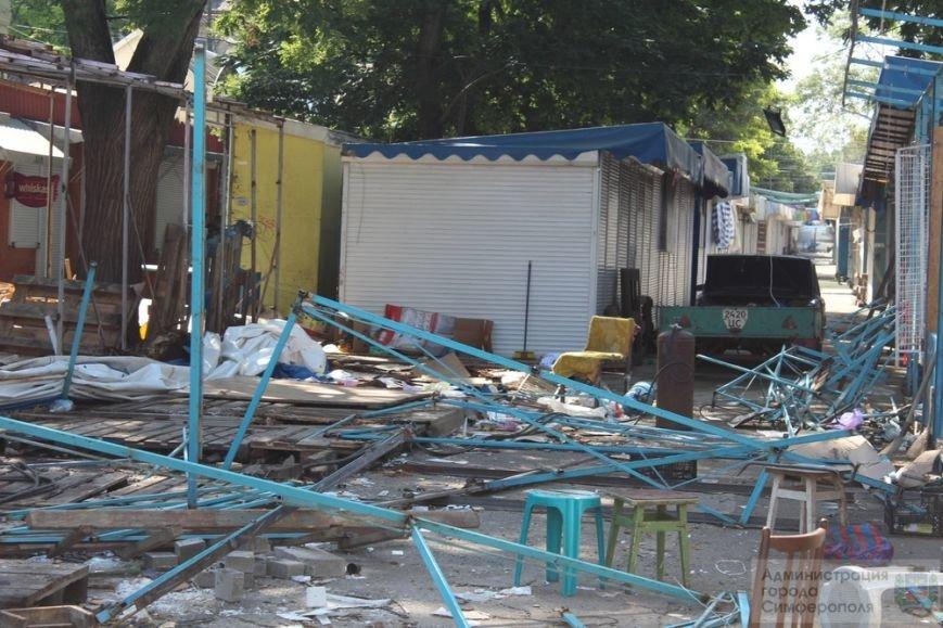 Снести торговые павильоны на рынке по ул. Козлова планируют за два дня (ФОТО) (фото) - фото 4