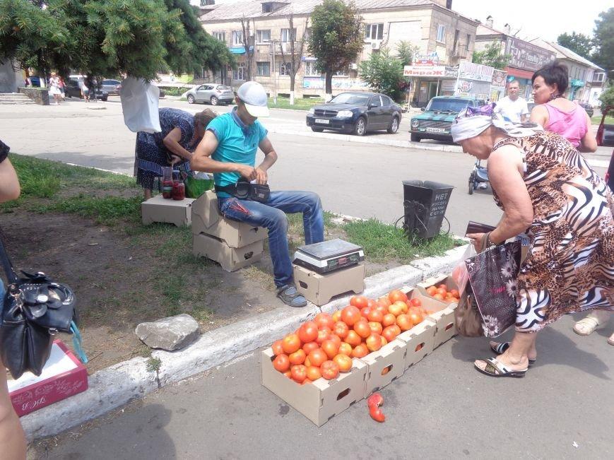 Стихийная торговля в Красноармейске: нарушить закон, чтобы выжить (фото) - фото 5