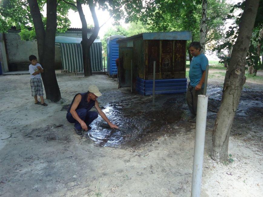 Аварийная детская площадка: где играют дети микрорайона «Западный» в Димитрове? (фото) - фото 8