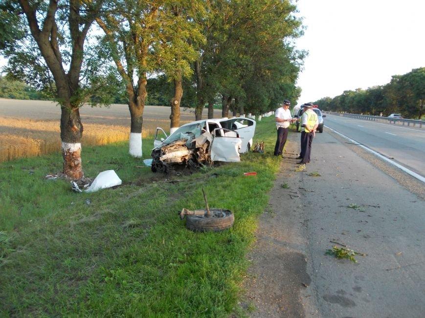 На ФАД «Кавказ» под Армавиром, в ДТП погибло два человека (фото) - фото 1