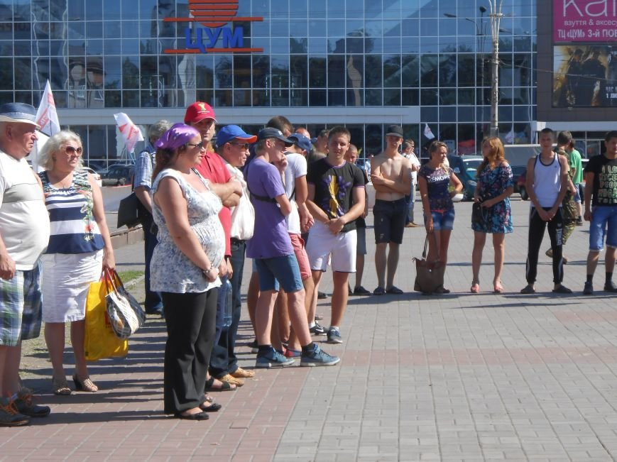 Как в Днепродзержинске прошло «народное вече» (фото) - фото 9