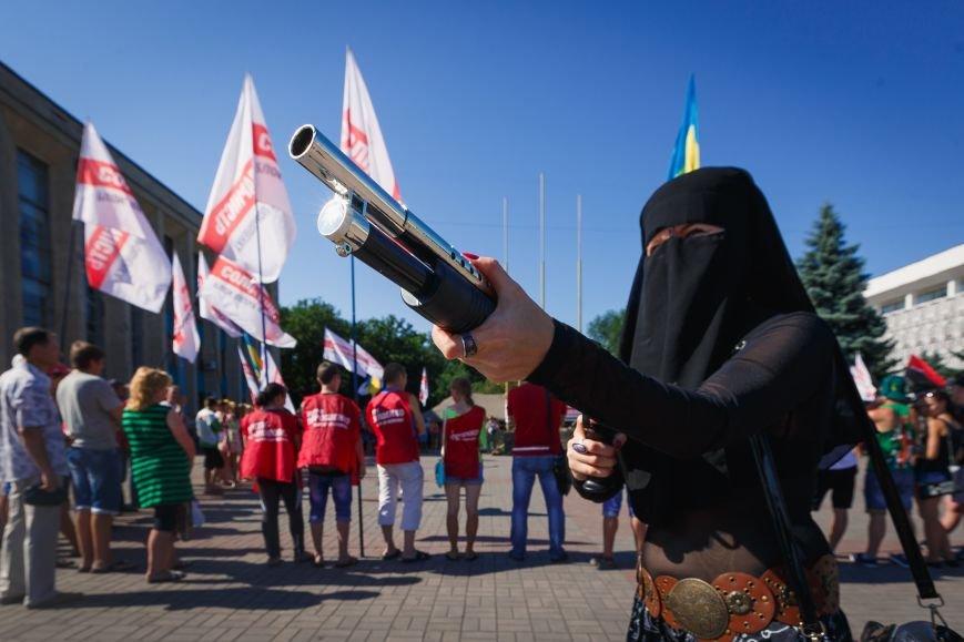 Как в Днепродзержинске прошло «народное вече» (Обновлено) (фото) - фото 16