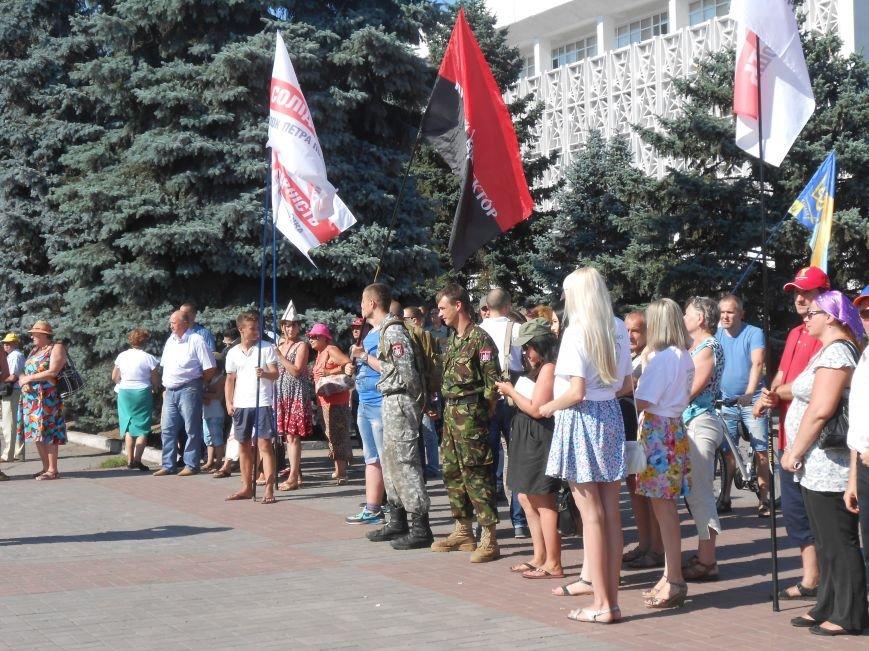 Как в Днепродзержинске прошло «народное вече» (фото) - фото 11