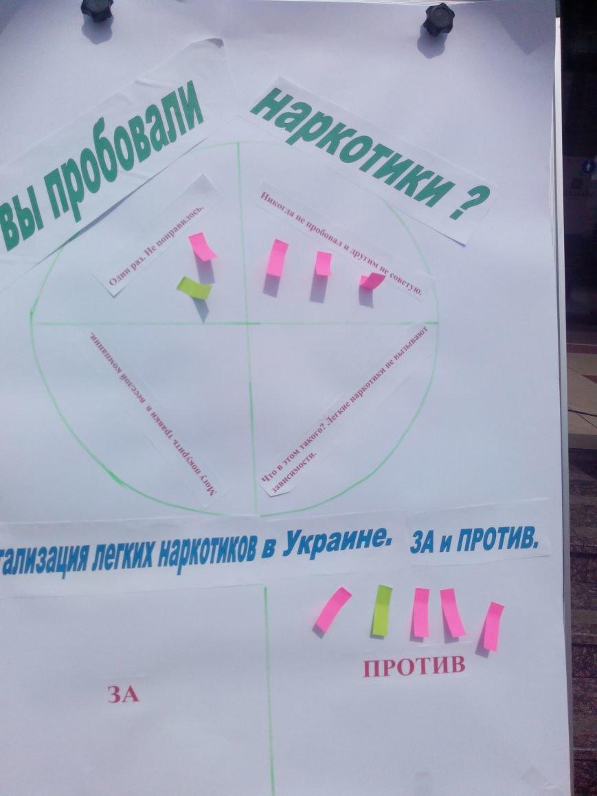 В Доброполье прошла акция посвященная дню борьбы с наркотиками и их незаконным оборотом, фото-3