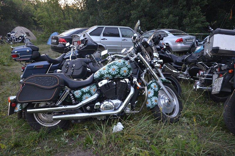 «Куба» под Ельцом. Что делали белгородские мотоциклисты на островке свободы (фото) - фото 4