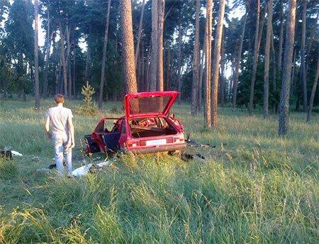На Сумщине в ДТП погиб 26-летний пассажир (ФОТО) (фото) - фото 1
