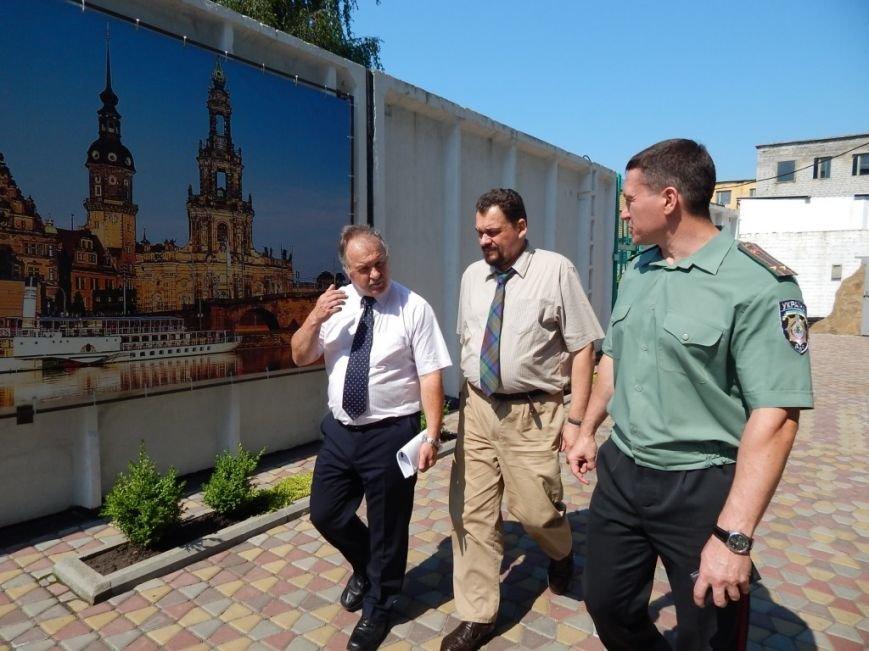 Кременчугскую воспитательную колонию посетили представители Совета Европы и Европейского Союза (ФОТО) (фото) - фото 1