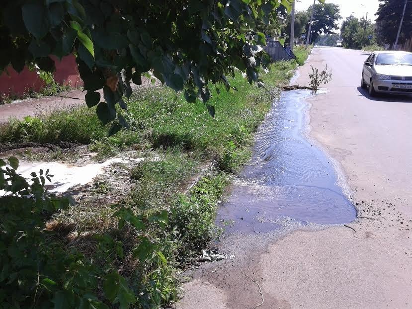В Мариуполе по ул. Итальянская остановили потоп (ФОТО) (фото) - фото 1