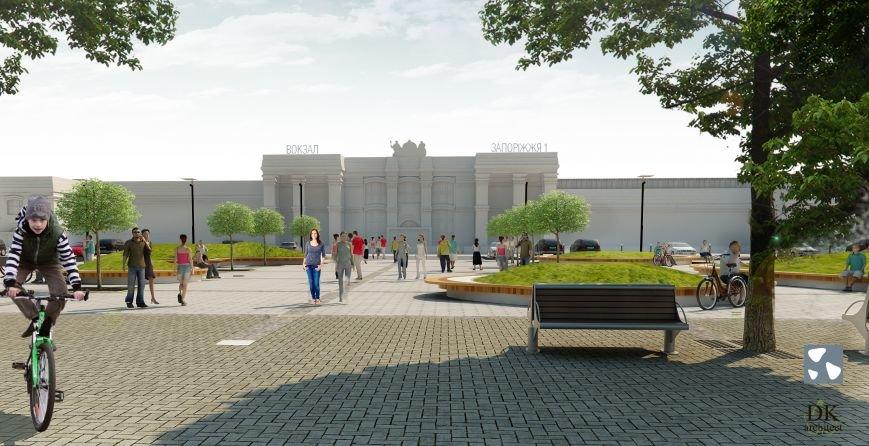 В Запорожье презентовали проект европейской привокзальной площади (ФОТО, ВИДЕО) (фото) - фото 5