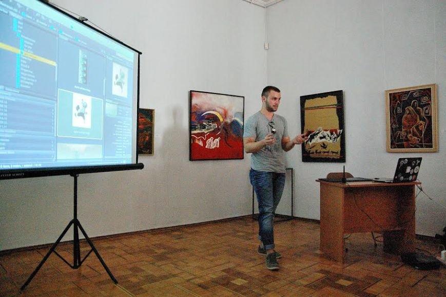 У Хмельницькому обласному музеї провели майстер-клас із цифорового живопису (ФОТО) (фото) - фото 1