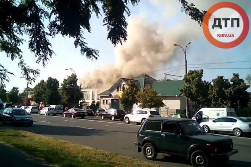 В Киеве горело посольство Йемена (ФОТО) (фото) - фото 1