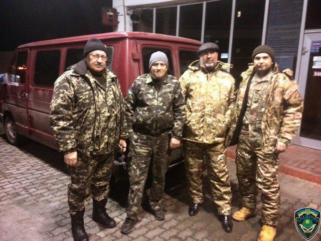 Волонтери ГФ Славутич перед поїздкою в зону АТО