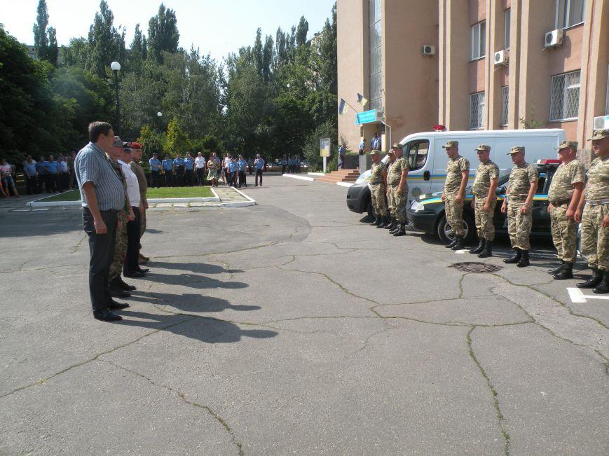 Николаевцы встретили ГАИшников, вернувшихся из зоны АТО (ФОТО) (фото) - фото 3