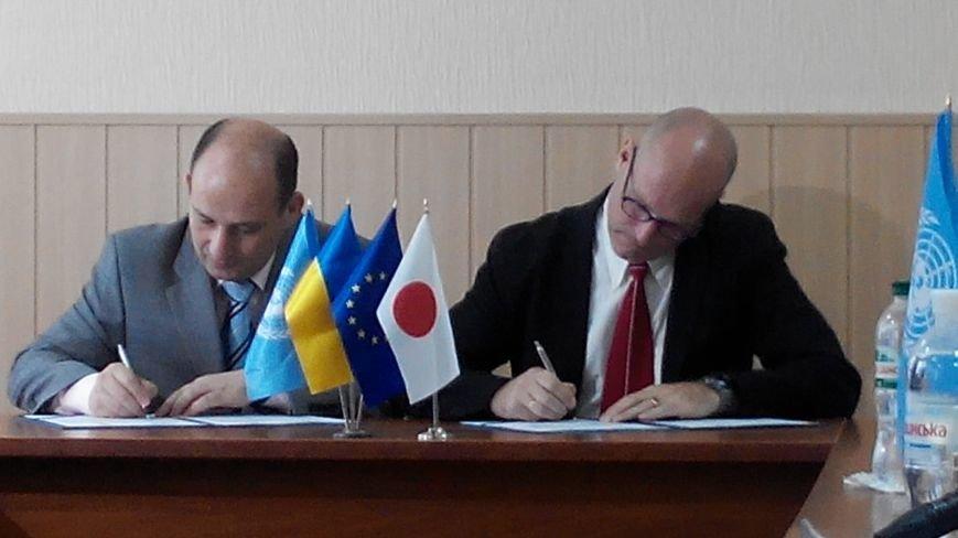 В Краматорске между ДонОГА и делегацией ПРООН подписан меморандум о взаимопонимании (фото) - фото 5