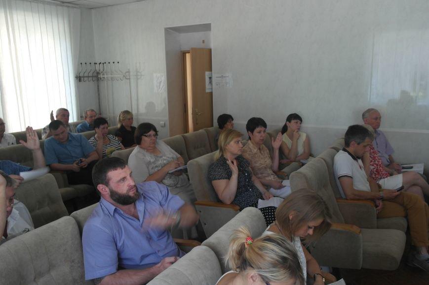 В Красноармейске на очередной сессии горсовета присутствует около 50% депутатов, фото-1
