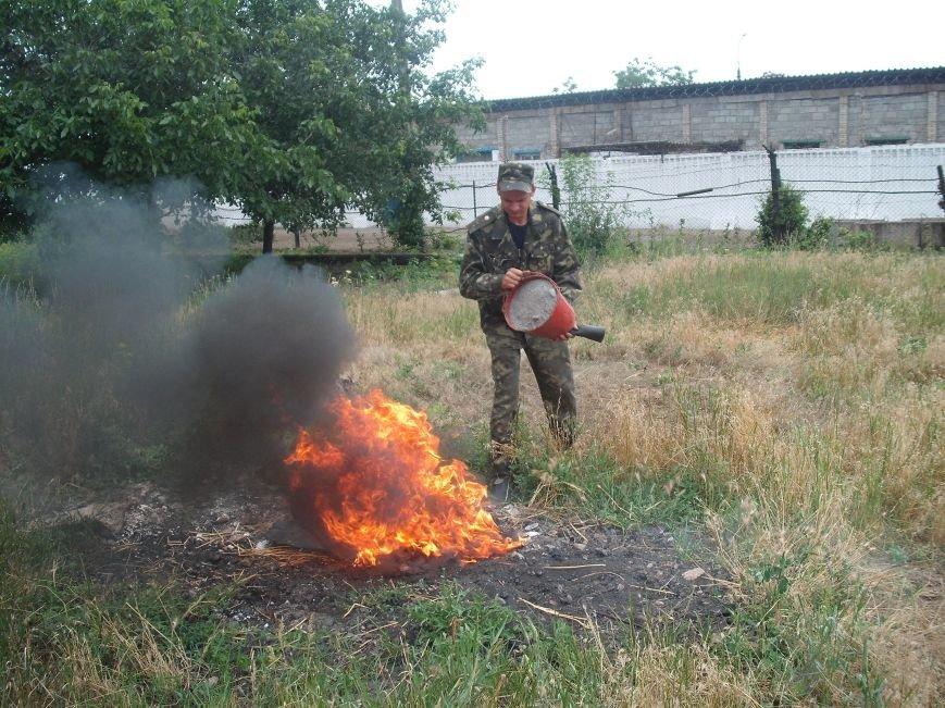 В Мариупольской исправительной колонии сотрудники устроили пожар (ФОТО) (фото) - фото 1