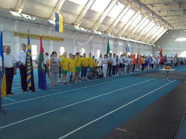 Во Всеукраинской спартакиаде среди инвалидов труда приняли участие и добропольчане (фото) - фото 1