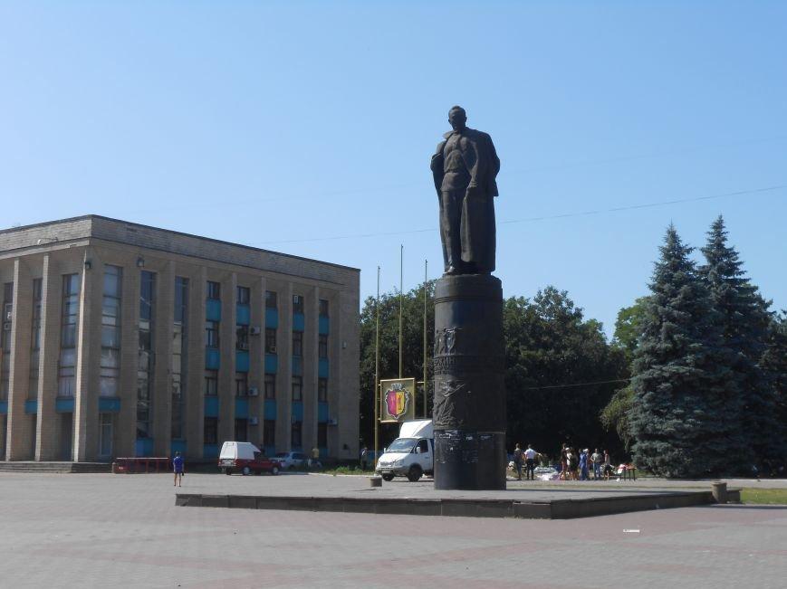 В Днепродзержинске завершилась акция протеста против городского головы (фото) - фото 1