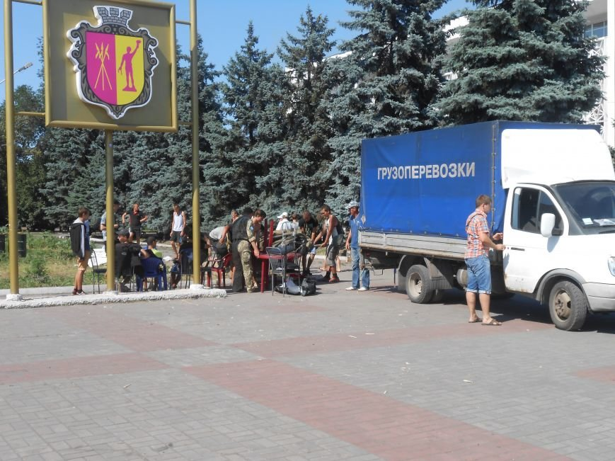В Днепродзержинске завершилась акция протеста против городского головы (фото) - фото 3