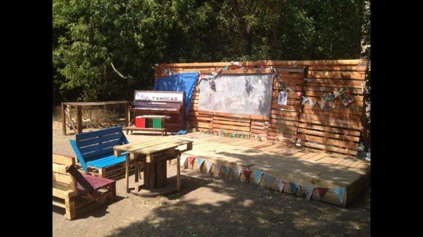 На Подоле активисты захватили территорию посольства РФ и сделали там креативный парк (ФОТО), фото-1