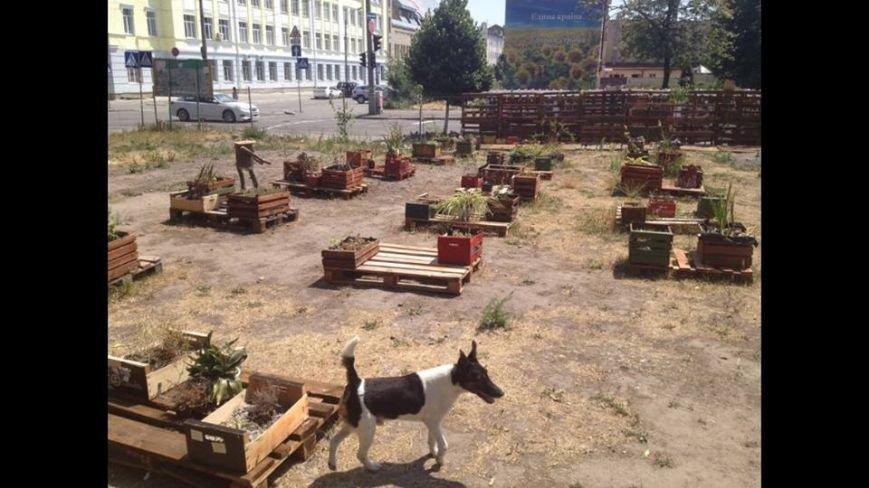 На Подоле активисты захватили территорию посольства РФ и сделали там креативный парк (ФОТО), фото-2