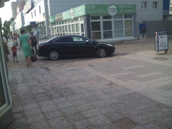 Как штрафует ГИБДД за неправильную парковку в Ульяновске (фото) - фото 3