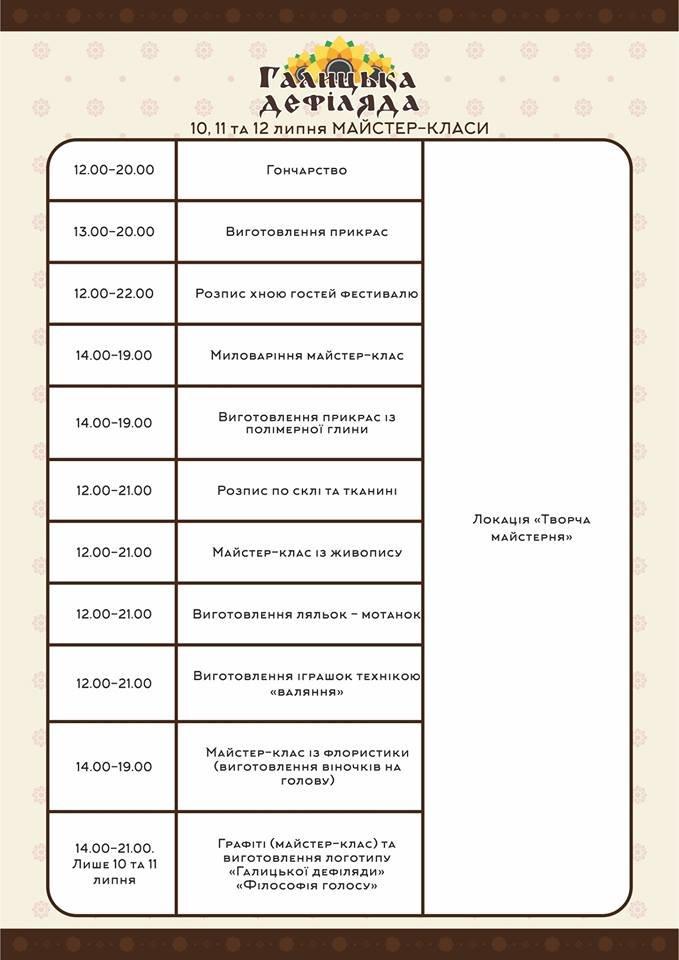 У Тернополі на «Галицькій дефіляді» встановлять пивні рекорди (повна програма) (фото) - фото 4