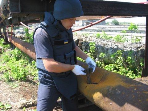 На территории Славянской ТЭС обнаружен взрывоопасный предмет (фото) - фото 1